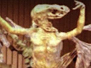 """Die Statur """"La Resurrezione"""", schlechte Bildqualität"""