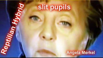 Gesicht von Angela Merkel